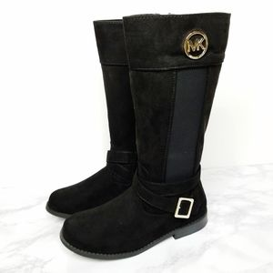 Michael Michael Kors NWOT Secret Black Suede Boots